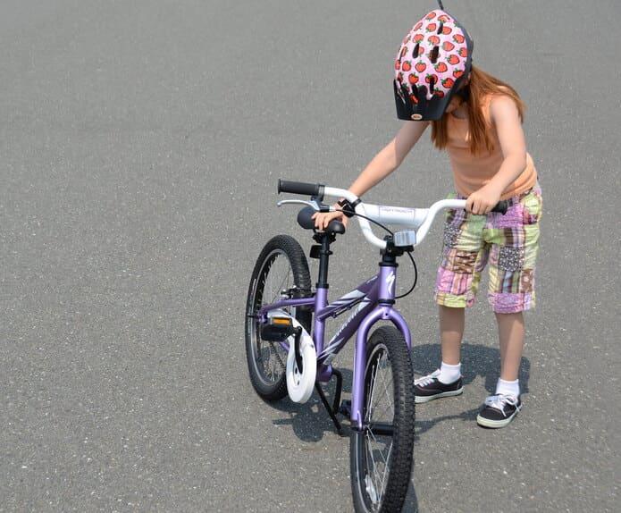 小学校高学年のお子さんには、24インチ自転車!