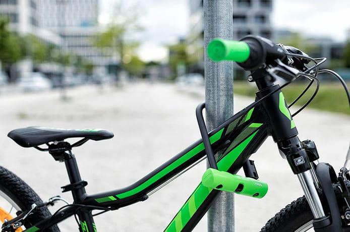 盗難対策に欠かせない!自転車に鍵をかけよう