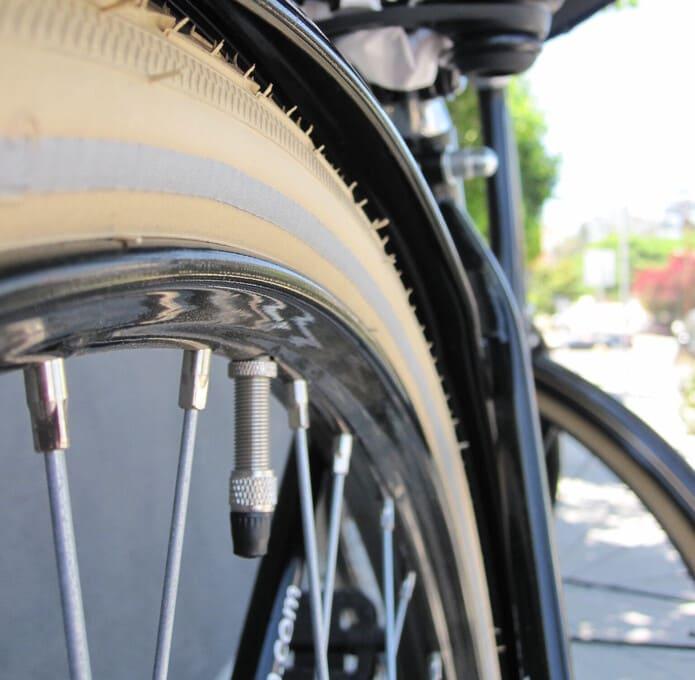 自転車 バルブ