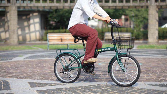 小さめのタイヤがポイント!20インチ自転車