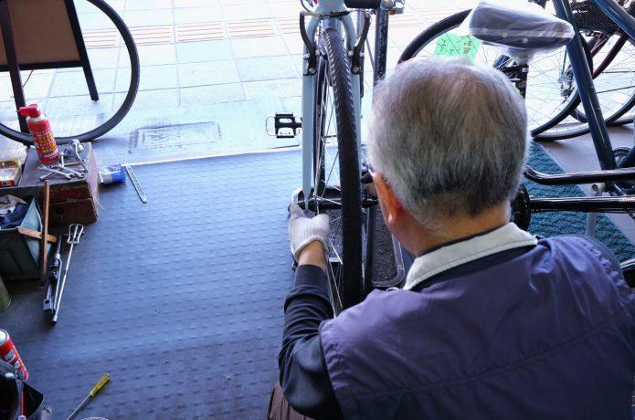 不安な時は、自転車ショップにお願いしよう