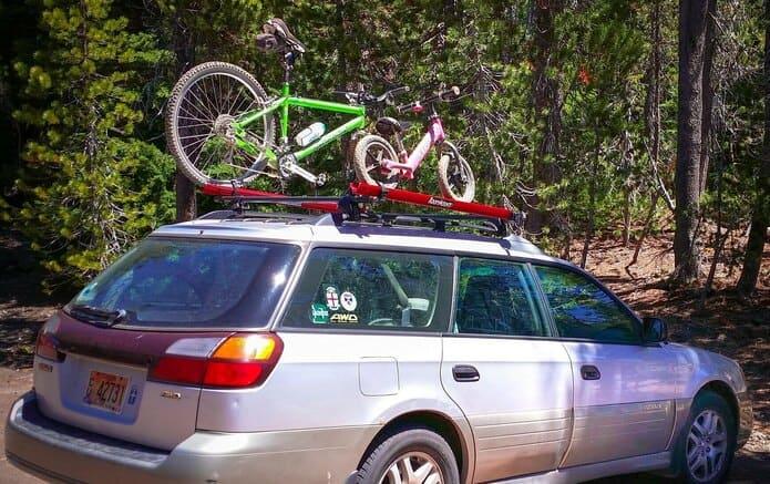 クルマに自転車を載せて、出かけよう!
