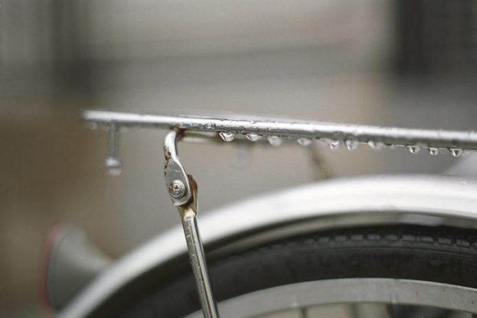 自転車 雨対策