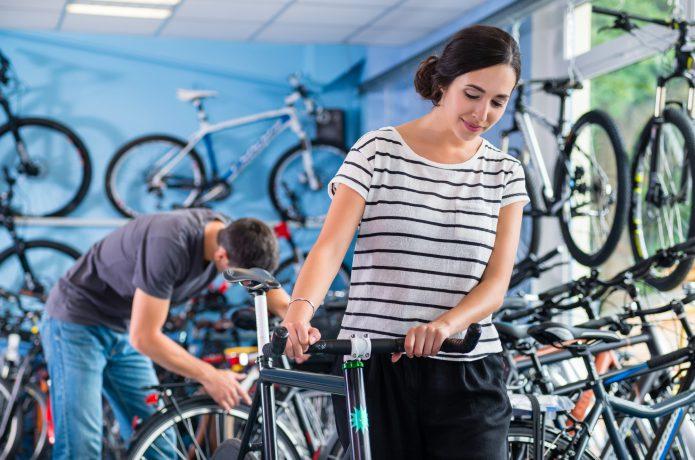 安全のためにも適切なインチの自転車を選ぼう
