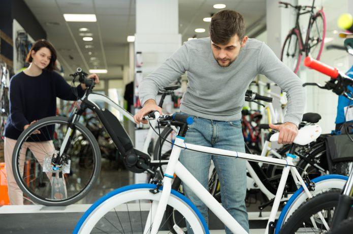 自転車専門ショップ