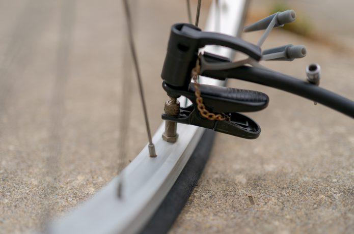 自転車のバルブの種類を確かめよう!
