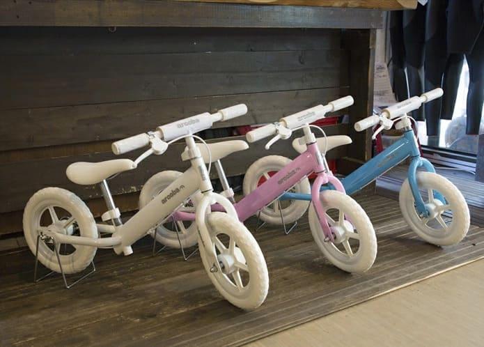 安全で楽しく乗れる自転車を選んであげよう!
