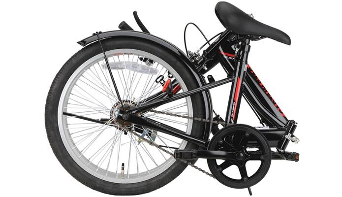 キャプテンスタッグといえば、折りたたみ自転車!