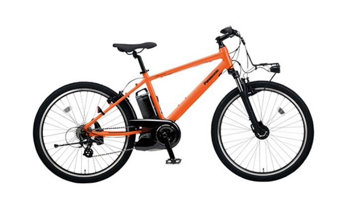 電動アシストで坂も快適!「e-bike」