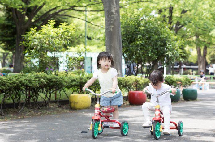2歳になったら、自転車はじめませんか?