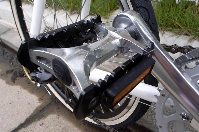 どれにしよう?クロスバイクのペダル