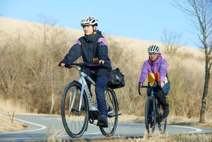 最新のe-bikeで、みなとみらい周辺を走れる!
