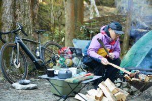 自転車キャンプの魅力を体験!「JACK WOLFSKIN×SPECIALIZED」コラボイベントが、みなとみらいで開催