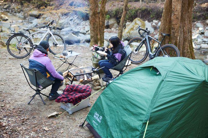 自転車&キャンプの魅力を体験できるイベント