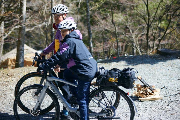 キャンプアイテムの自転車の積み方を学ぶ!