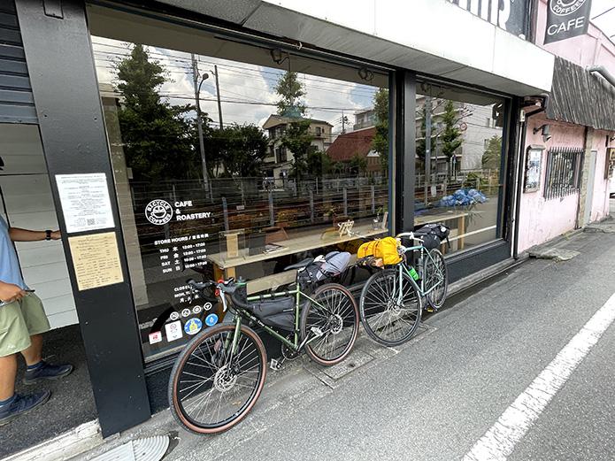 BICYCLE COFFEEに到着