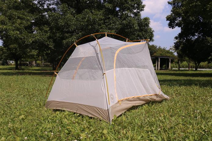 タイガーウォールのテント本体