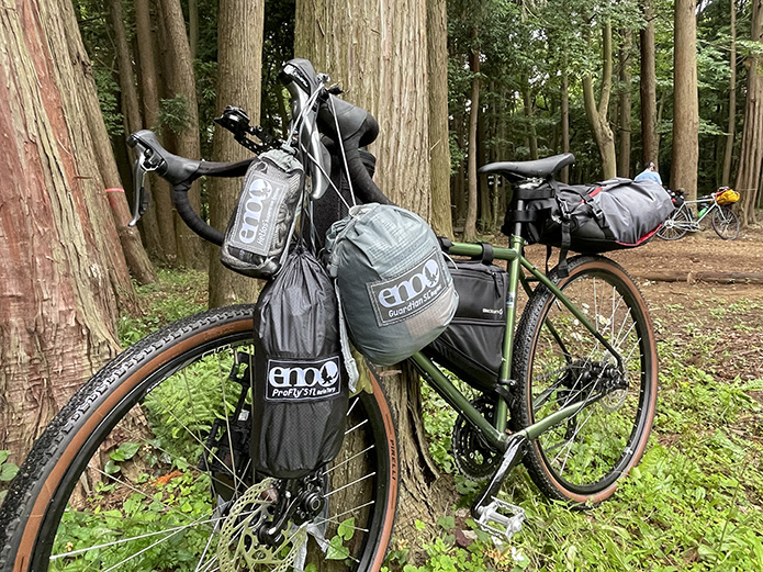 ハンモック×自転車キャンプを楽しみつくそう