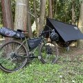 【都心から自走で行く】お手軽自転車ハンモックキャンプのすゝめ