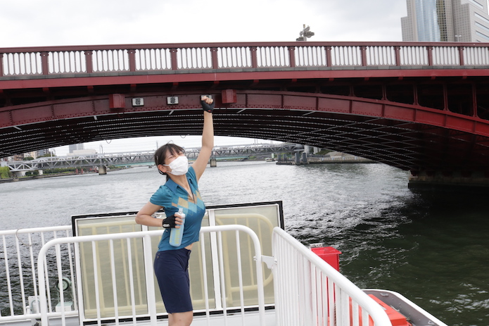 【浅草→竹芝→葛西臨海公園ルート】を乗船&実走したよ