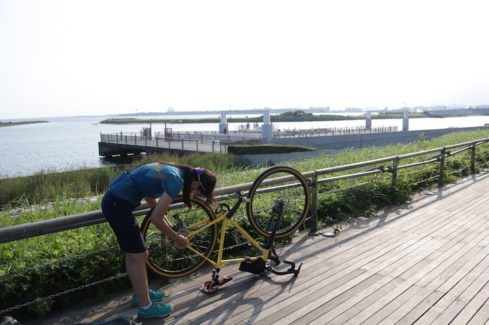 輪行すれば自転車持ち込みOK