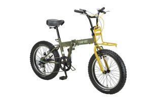 キャプテンスタッグのおすすめの自転車をご紹介。充実した折りたたみ式のラインナップ。
