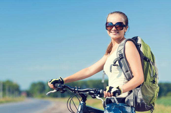 サイクリング中の日焼け対策、バッチリですか?