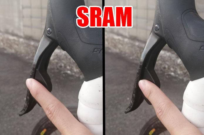 SRAM シフター